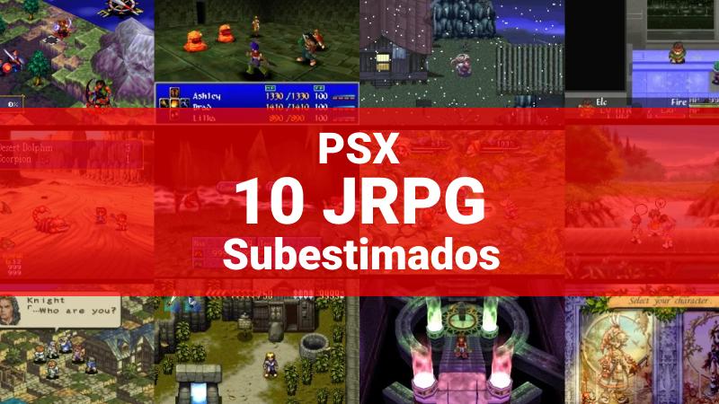 PSX 10 JRPG Subestimados